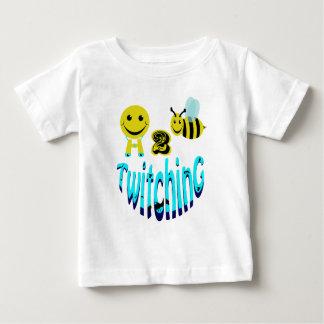 happy2bee twitching tshirts