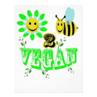 Happy2Bee Vegan Letterhead