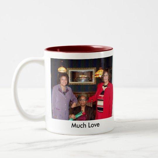 Happy65thmuchlove2 Two-Tone Coffee Mug