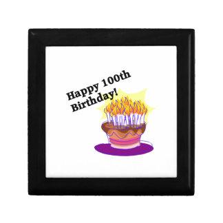 Happy 100th Birthday Trinket Box