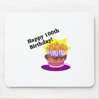 Happy 100th Birthday Mouse Pad