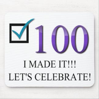 Happy 100th Birthday Mouse Pad