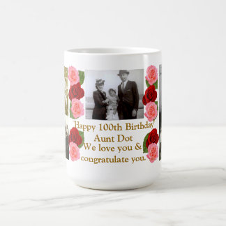 Happy 100th Birthday Mug
