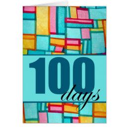 Happy 100th Day, Korean Baek-il Birthday for Boy Card