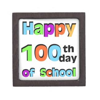 Happy 100th Day of School Jewelry Box