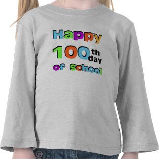 Happy 100th Day of School Shirt