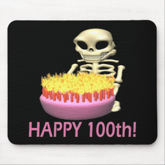 Happy 100th mouse pad