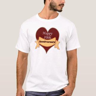 Happy 10th. Anniversary T-Shirt