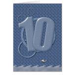 Happy 10th Birthday! Card