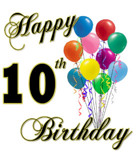 Happy 10th Birthday Gifts And Apparel Trucker Hat