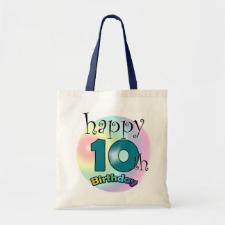 Happy 10th Birthday Tote Bag