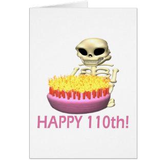 Happy 110th greeting card