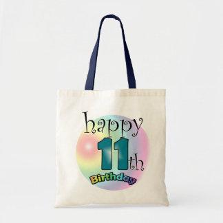 Happy 11th Birthday Budget Tote Bag