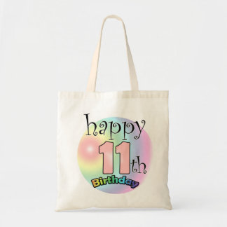 Happy 11th Birthday (pink) Tote Bag