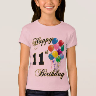 Happy 11th Birthday T-Shirt