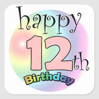 12 Year Anniversary Gifts On Zazzle