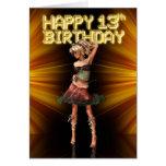Happy 13th Birthday Teenager Card