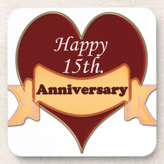 15 th wedding anniversary