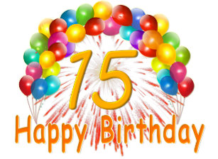 Happy 15TH Birthday Balloons Cake Pops