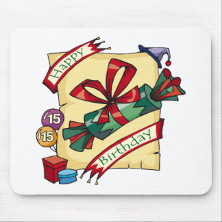 Happy 15th Birthday Gifts Mouse Pad