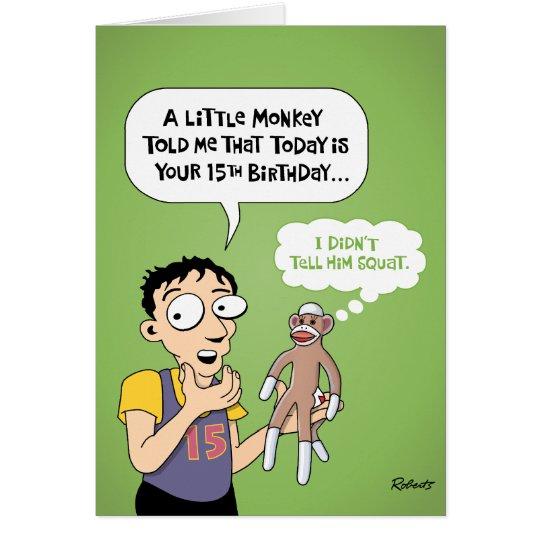 Happy 15th Birthday Prediction Card – 15th Birthday Card