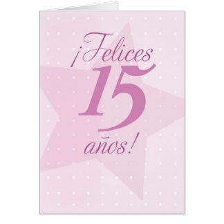 spanish for 15th birthday