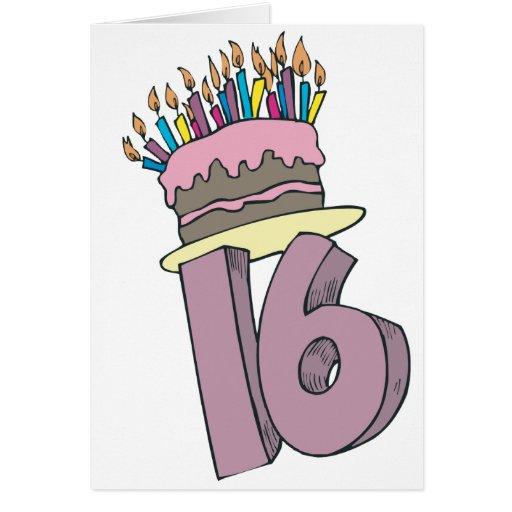 Happy 16th Birthday! Cards