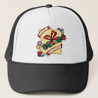 Happy 16th Birthday Gifts Trucker Hat