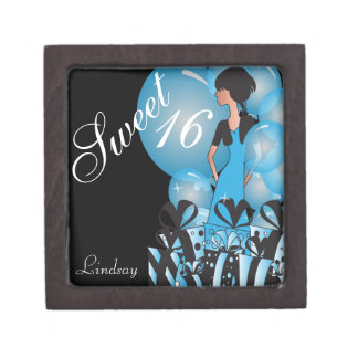 Happy 16th Birthday | Personalize Keepsake Box