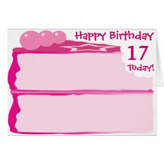 Happy 17th Birthday Card