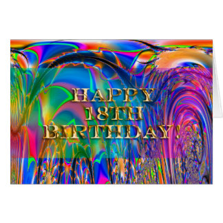 Happy 18th Birthday! Greeting Cards