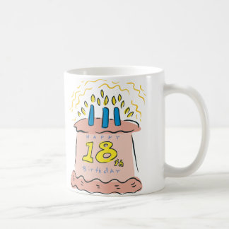 Happy 18th Birthday! Coffee Mug