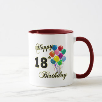 Happy 18th Birthday Gifts Mug
