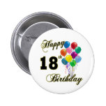 Happy 18th Birthday Gifts Pin