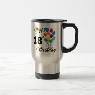 Happy 18th Birthday Gifts Travel Mug
