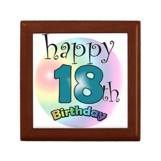 Happy 18th Birthday Jewelry Box