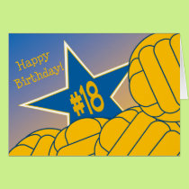 Happy 18th Birthday to my Favorite Water Polo Star Card