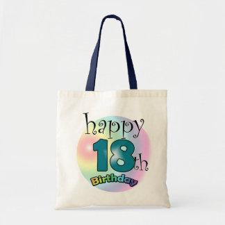 Happy 18th Birthday Tote Bag
