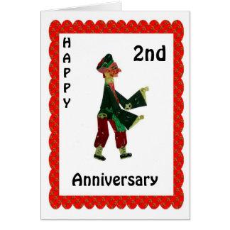 Happy 1st Anniversary Card