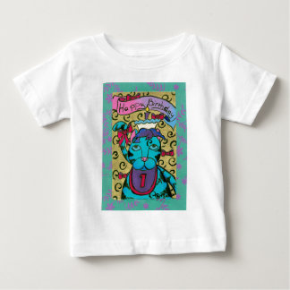 Happy 1st Birthday Cat Baby T-Shirt