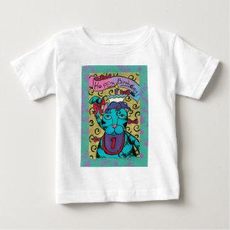 Happy 1st Birthday Cat Baby T-Shirt
