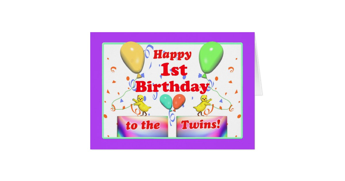1st Birthday Ecards