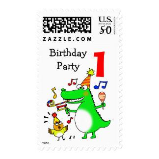 Happy 1st Birthday ( I am 1 ) Postage