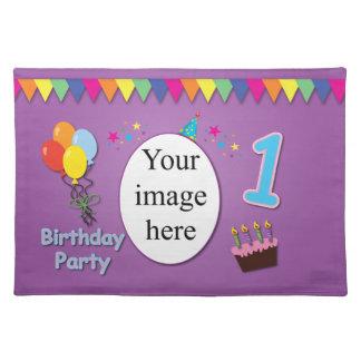 Happy 1st Birthday Place mat