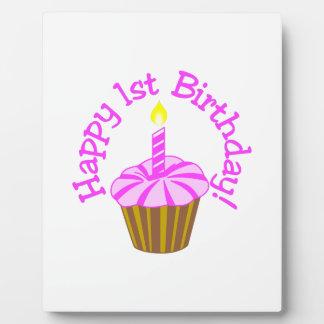 Happy 1st Birthday Plaque