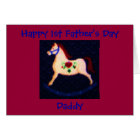 Happy 1st Father's Day, Daddy Card