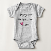 Happy 1st Mothers Day Shirt