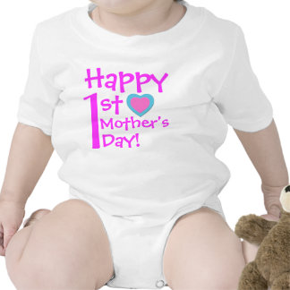 Happy 1st Mother's Day Tee Shirts