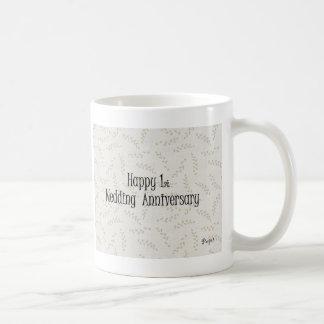 Happy 1st. Wedding Anniversary Coffee Mug