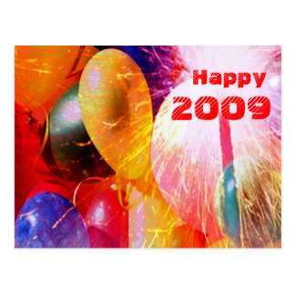 Happy 2009  Postcard